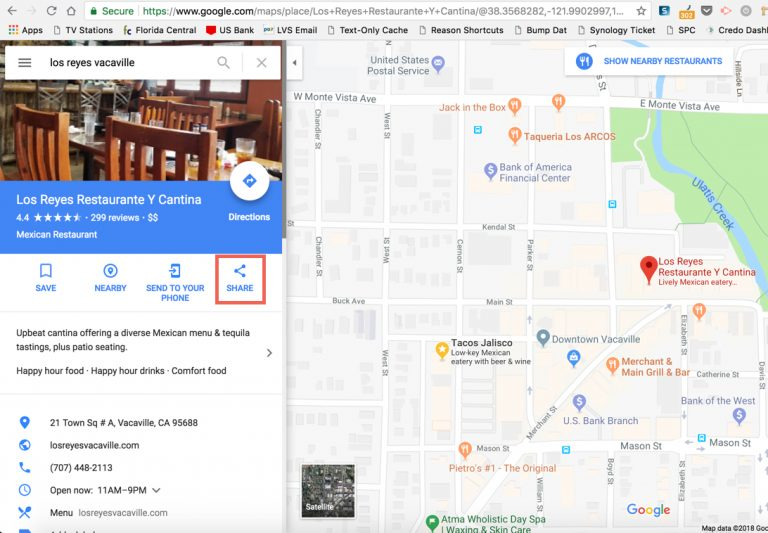 How Do I Link My Website To My Google My Business Listing Google - Us-bank-google-maps