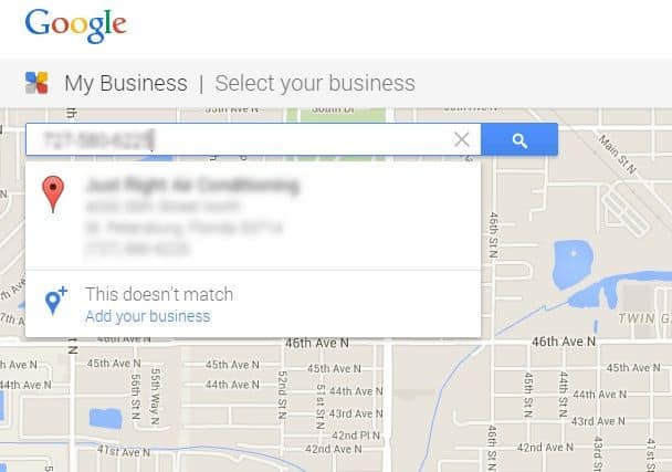 claim google my business listing